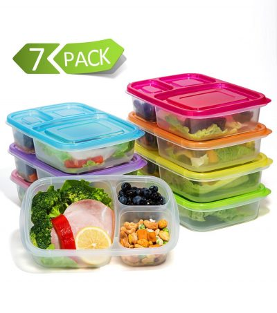 meal prep containers for lunches