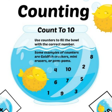 Counting Practice for Preschool and Kindergarten - Fishbowl