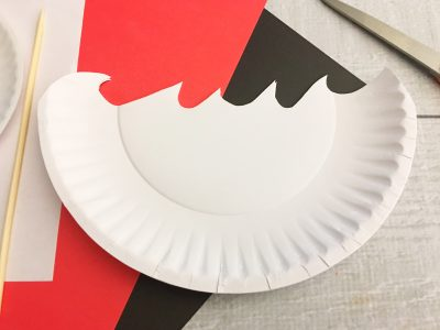 Pirate Ship paper plate craft supplies