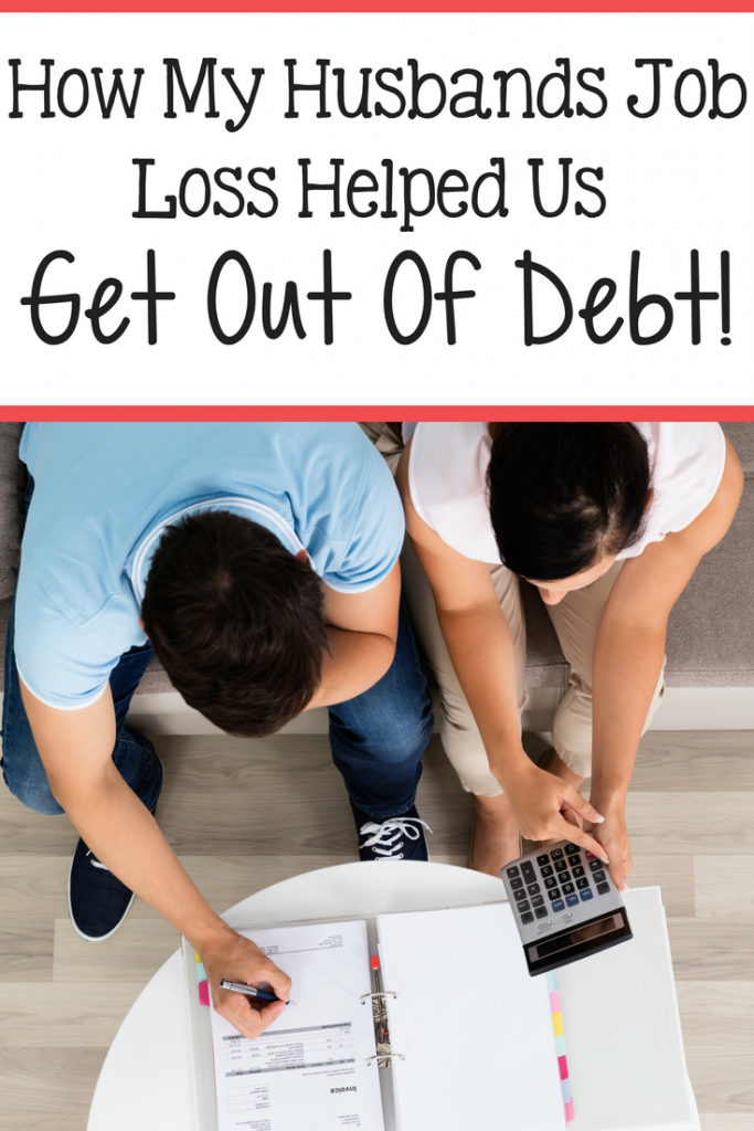 Paying off debt through job loss? Is it even possible!? YES! Find out how we did it!