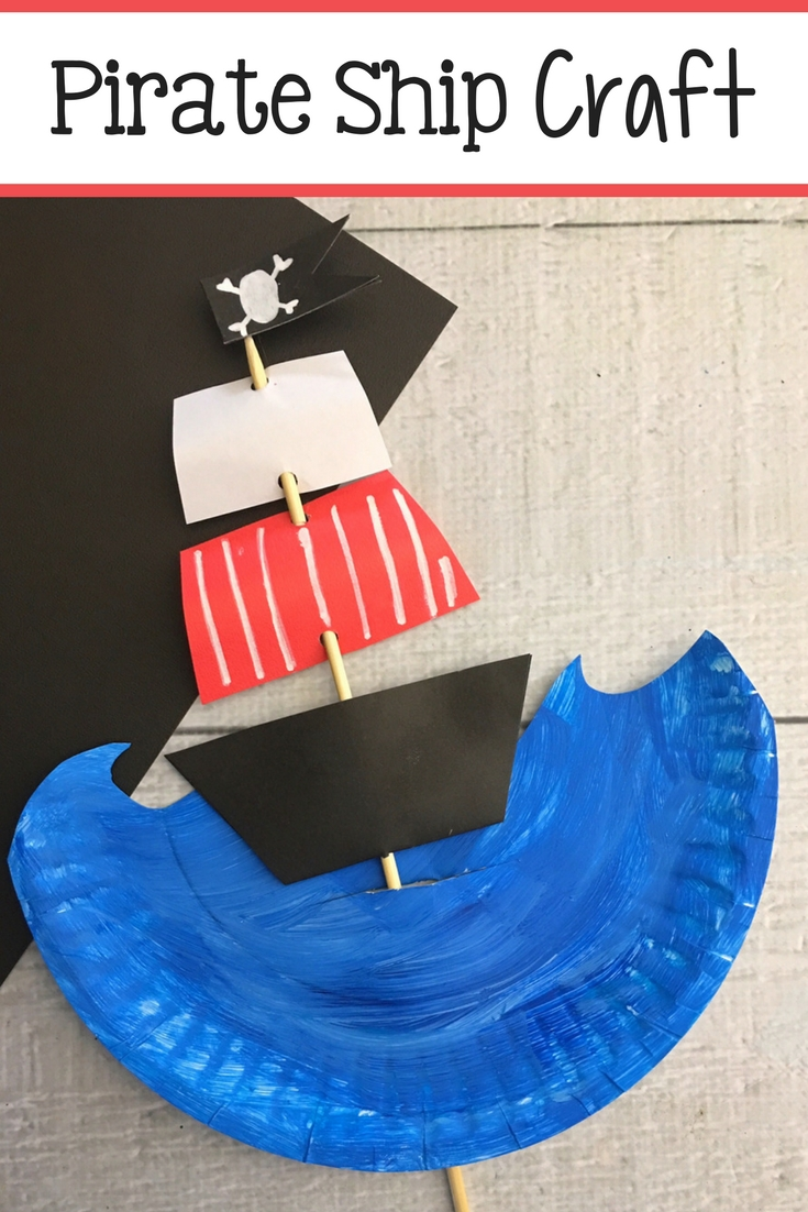 Kids Pirate Ship Craft