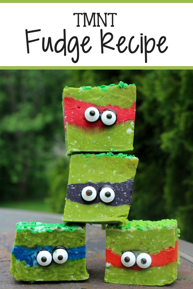Teenage Mutant Ninja Turtles Fudge Recipe