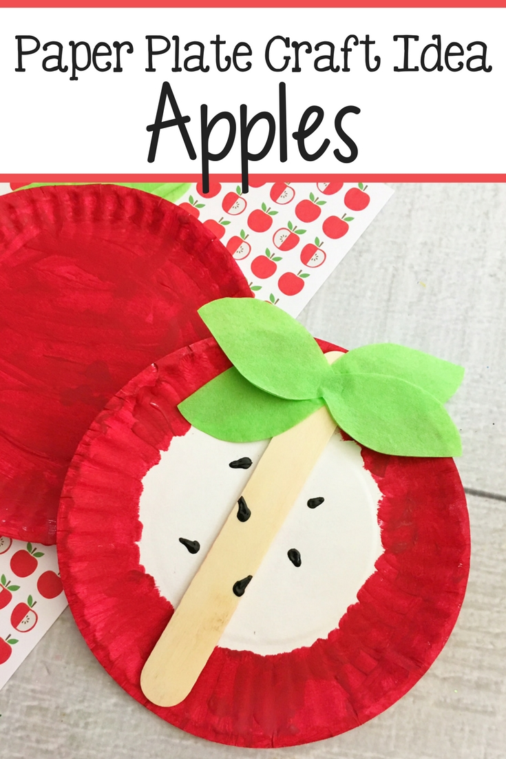 Apples Craft - The Relaxed Homeschool