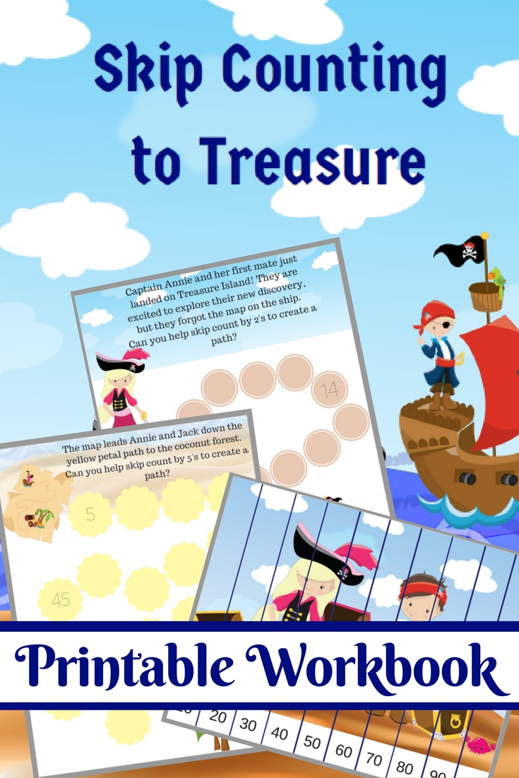 Pirate Skip Counting Workbook
