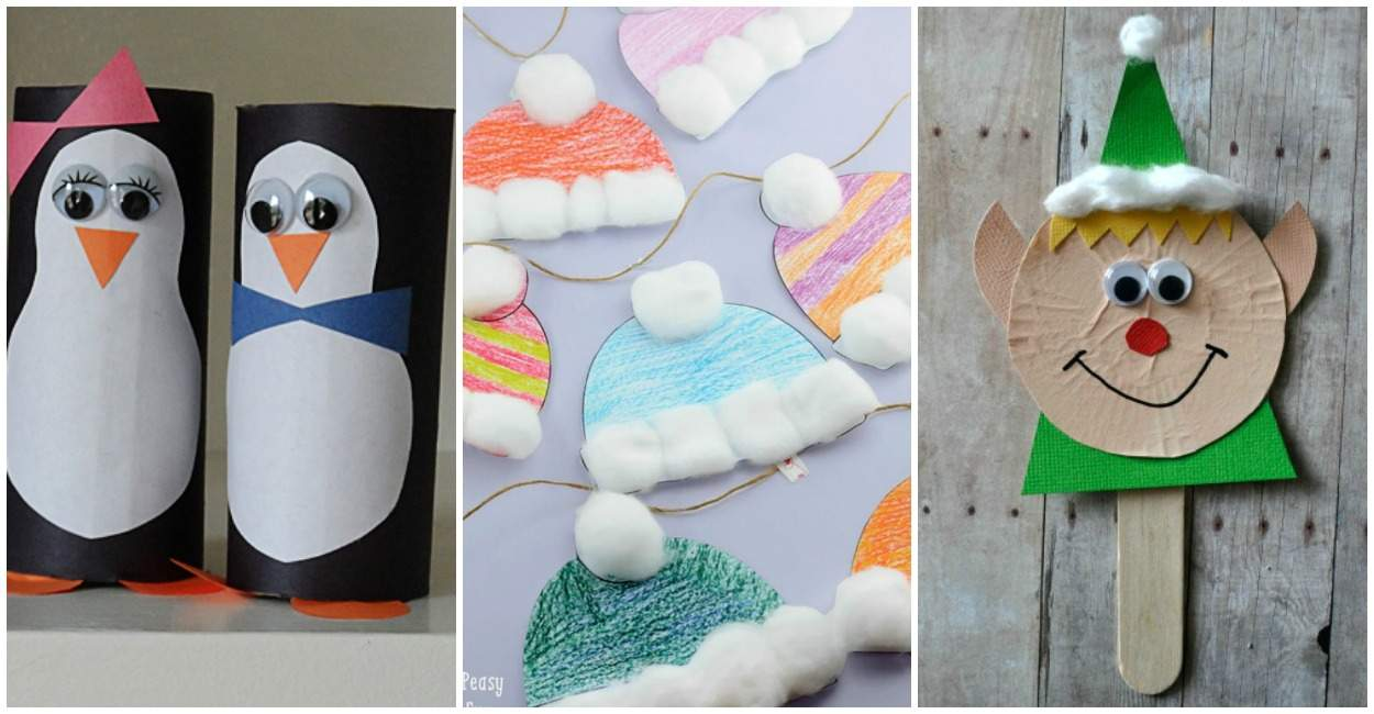 10 Quick And Easy Winter Crafts For Kids The Relaxed