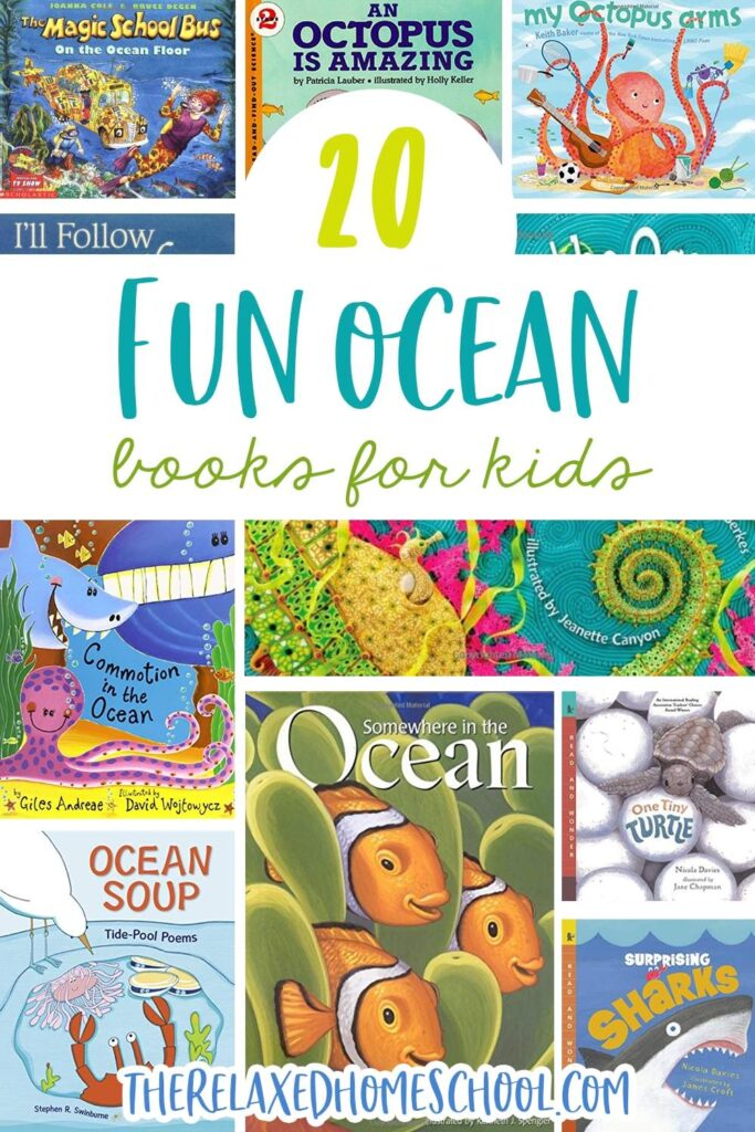 20 Fun Ocean Books for Kids