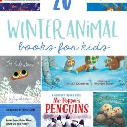 20 Winter Animal Books for Kids
