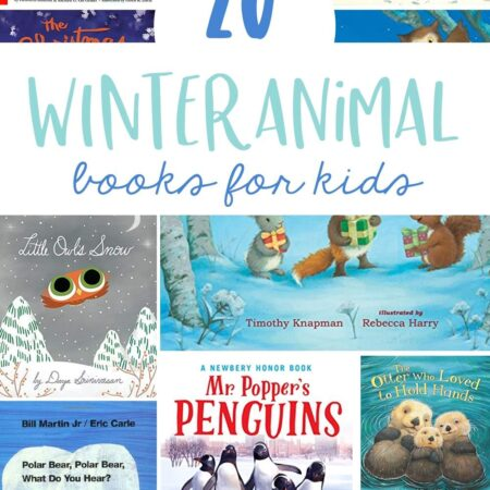 20 Winter Animal Books for Kids