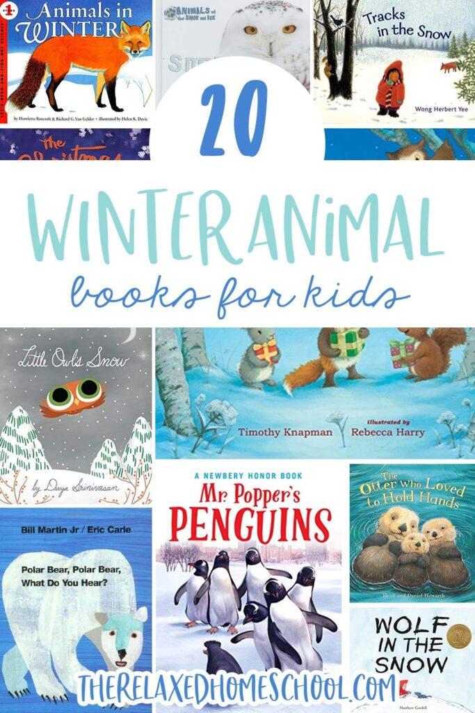20 Winter Animals Books for Kids