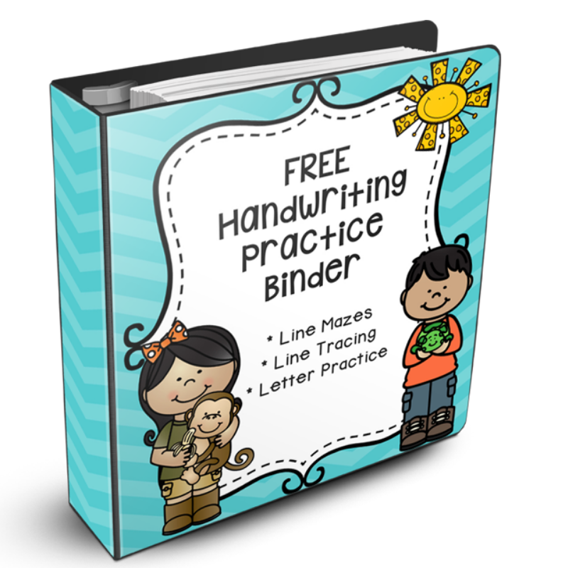 FREE Handwriting Sheets That Will Improve Your Child's Handwriting!