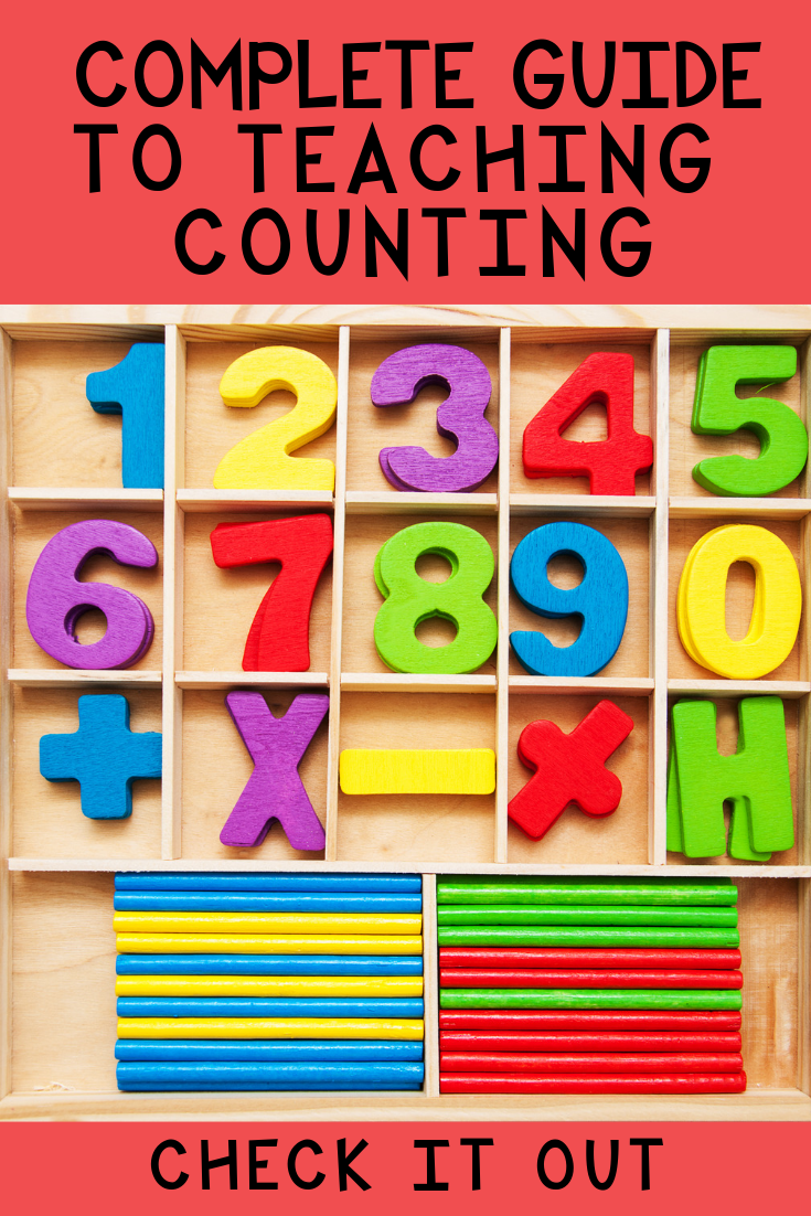 Teach your children how to count with this easy to follow guide.