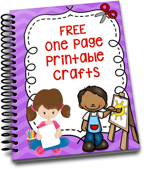 image regarding Printable Crafts for Kids called Free of charge Printable Crafts For Youngsters - The Comfortable Homeschool