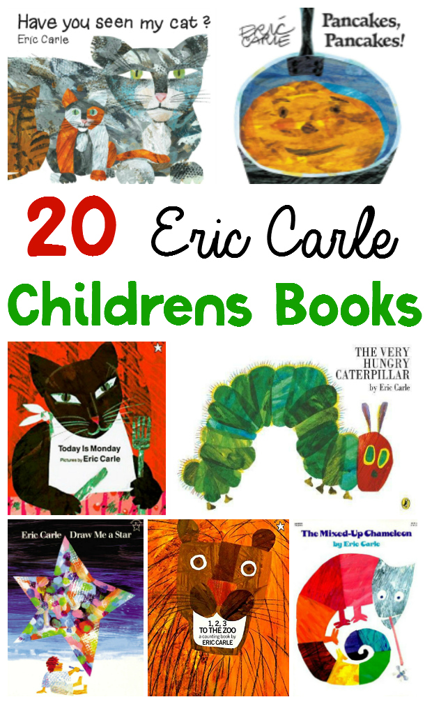 It's no surprise that Eric Carle books are popular for a wide variety of ages. And if you haven't read and explored all he has to offer, this list will get you right where you need to be!