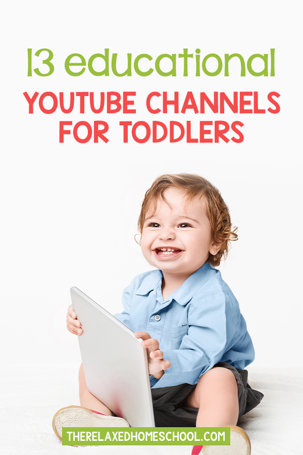 Make youtube educational for your toddler! Check out these 13 must see youtube channels that will help educate your toddler as they have fun!