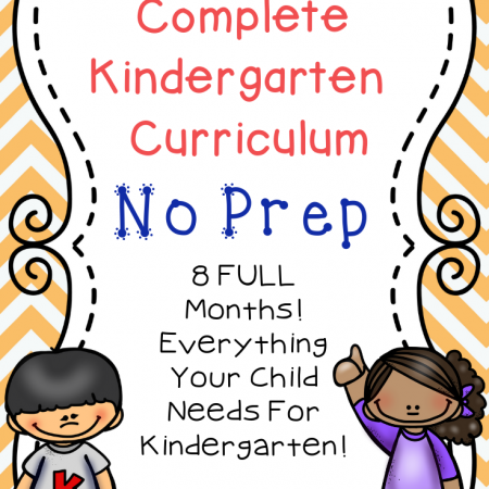 This preschool curriculum covers everything your kids need to know PLUS it is super easy for you to follow and implement as a parent