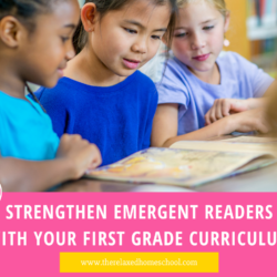 Strengthen Emergent Readers with Your First Grade Curriculum